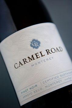 Carmel Road Wine Package Design wine vinos maximum vinho