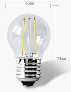 Dimmable Ecologic LED Bulb Warm/Neutral/Cold, E27, 2W, 4W, 6W, 8W
