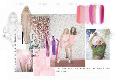#moodboard #fashion #pink