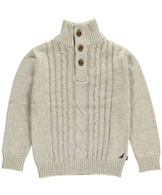 "Nautica Big Boys' ""Starboard Wind"" Sweater (Sizes 8 – 20) $24.99"