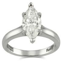 18k Marquise Diamond Ring from Borsheims. #SurpriseWorthy #Over2Carats