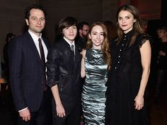 Star Tracks: Monday, March 7, 2016   MEET THE FAMILY   From left: Matthew Rhys, Holly Taylor, Keidrich Sellati and Keri Russell attend the season 4 premiere of The Americans in New York City on Saturday.