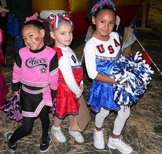 Girls Cheerleader Costume ideas for groups of all sizes - for girls and guys
