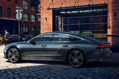 The new A7 Sportback with its iconic silhouette! Image source: www.audi.co.uk