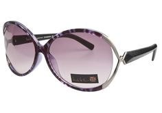 Nicole Miller Contradiction Fig  ✿ WIN these sunglasses with our #ShadesOfSummer contest! Enter Today: http://sweeps.piqora.com/coastal