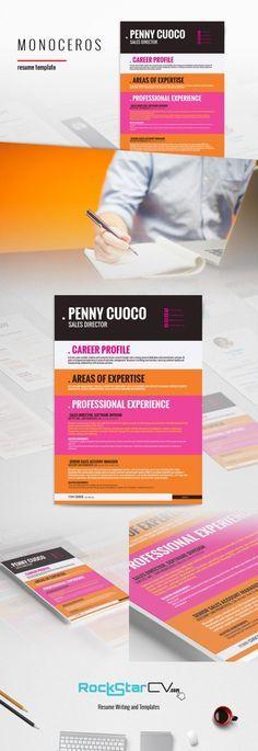 Graffias Resume Template    rockstarcv product resume - writing a resume tips