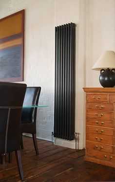 Classic Cast Iron Steel Column Radiator - made-to-order is available at The Radiator Centre & is made up of a quality design and functionality. Open Plan Kitchen Dining, Open Plan Living, Column Radiators, Cast Iron Radiators, Steel Columns, Iron Steel, Living Room Interior, New Homes, Interior Design
