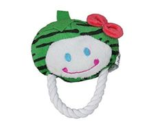FastPet Pet Dog Puppy Toys Cute Strawberry Pet Plush Toys Green *** Check out this great product.