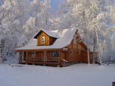 Expedition log home ~ Alaska