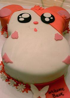 Hamtaro! OMG! I want this cake