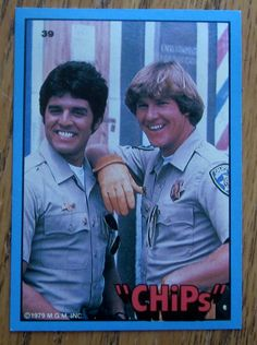 "Qty of 1 1979 TV Show ""Chips"" Trading Card N0 31"