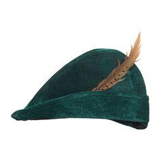 Robin Hood Hut grün Mittelalter Mütze Spitzhut mit Feder Jägermütze Jäger Kappe