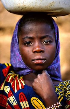 Girl in Niger.