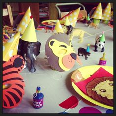 Dear Zoo party Second birthday animals