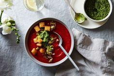 Spring Gazpacho: Not an Oxymoron | Food52 | Bloglovin'
