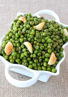 This Is The Absolute Best Way To Cook Frozen Peas!