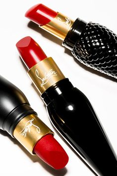 When Christian Louboutin introduced his first nail-polish collection last year, he made it just as glamorous and those famous red soles. So we're not exactly surprised that his lipstick collection—which launches this September—is going to be just as statement-making....