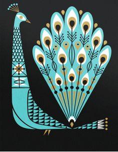 Lab Partners // Proud as a Peacock – Modern Kiddo illustration Art And Illustration, Vintage Illustrations, Inspiration Art, Grafik Design, Art Design, Oeuvre D'art, Illustrators, Folk Art, Art Photography