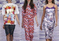 London Fashion Week   Spring/Summer 2014   Print Highlights   Part 2 catwalks