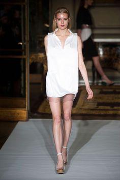 Megan Irminger: Amaya Arzuaga Spring 2013 #amayaarzuaga #fashionweek #paris