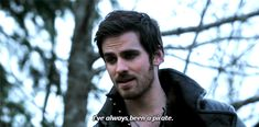 I always how much his return to piracy was fueled by his desire to forget Emma.