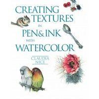 Creating Textures In Pen & Ink With Watercolor | NorthLightShop.com