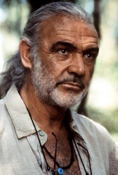 Connery in Medicine Man - I so wanted to become a biologist and live in the jungle after seeing this movie!Sean Connery in Medicine Man - I so wanted to become a biologist and live in the jungle after seeing this movie! Sean Connery, Older Men Haircuts, Older Mens Hairstyles, Hollywood Men, Classic Hollywood, Actrices Hollywood, James Bond, British Actors, Good Looking Men