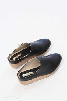 sydney brown clog black.