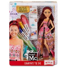 """Project Mc2 Experiments with Doll - Camryn's Tie Dye - MGA Entertainment - Toys """"R"""" Us"""
