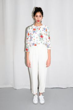 KENZO FLORAL BLOUSE via collection Nº2. Click on the image to see more!