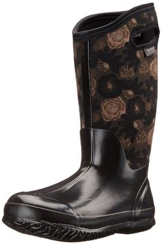 Bogs Women's Classic Watercolor Tall Winter Snow Boot -- Check out this great image  : Boots Shoes