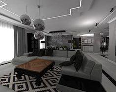 Salon styl Glamour - zdjęcie od STUDIO WHITE Architektura Wnętrz