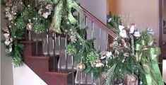 How to Decorate Your Banister and Staircase for Christmas - Trendy ...