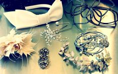 hair accessories on our shoot from bhldn.com