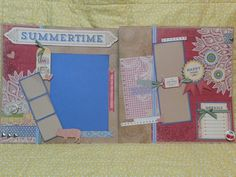 CTMH Jubilee Scrapbook Pages by @craftyagentmom