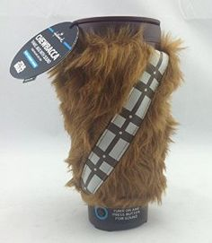 Amazon.com : Hallmark SHP4042 Chewbacca Travel Mug with Sound : Everything Else