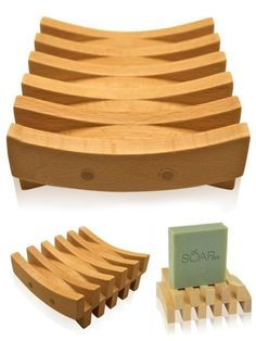 Club's beautifully handcrafted beechwood soap dish with a clear non-toxic finish is the perfect self draining soap tray. A large slatted surface will increase the life of natural soap. Home Decor Catalogs, Home Decor Store, Wooden Decor, Wooden Crafts, Small Woodworking Projects, Wood Projects, Affordable Home Decor, Cheap Home Decor, Wood Soap Dish