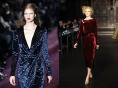 Fashion Trend Fall 2012 - Gucci and L'Wren Scott velvet dress for fall 2012    http://ecasirip.com/fashion-trends-fall-2012