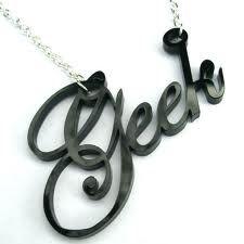 Rock Geek round' my neck! LOL  #suchageek