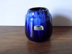 Vintage Scheurich West German Pottery Vase by MTippingAtelier