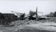 """Messerschmitt Me 210 A-1 """"2N+LT"""" Crash Landed at Gerbini"""
