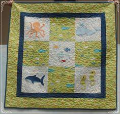 DÍAS MARAVILLOSOS: Una colchita especial para un bebé que amamos.