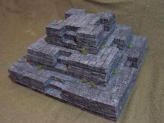 Terrain Workshop: Building a Ziggurat   Warhammer 40k, Fantasy, Wargames & Miniatures News: Bell of Lost Souls