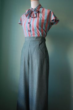 1940's *Love this WHOLE ensemble!*