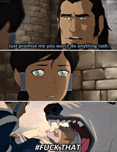 The Legend of Korra: haha