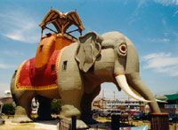 Who doesn't love Lucy? Lucy the Elephant in Margate, just a couple of miles south of Atlantic City.