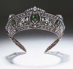 Tiara 1900 Christie's . The Harcourt Tiara
