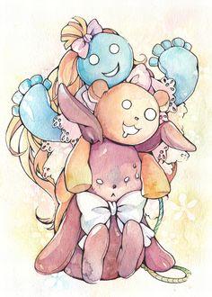 pandora hearts dolls! Emily, Jyanta, and [spoiler]. can u name who each belong too :3