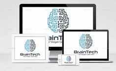 BrainTech Logo by c032h   GraphicRiver