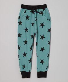 Green Stars Sweatpants - Ottomatic